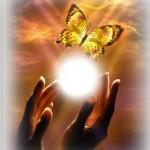 Мастер и ученик - происходит передача света