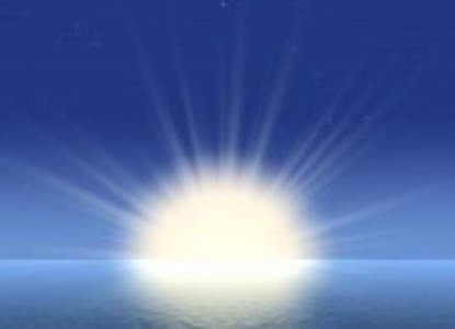 1755045-beams-of-the-bright-sun-above-ocean-a-background-of-very-high-sanction