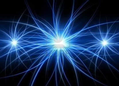 4203146-abstract-blue-light-on-black