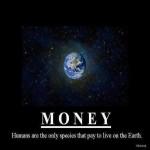 Человечество единственное в космосе платит за жизнь на Земле.